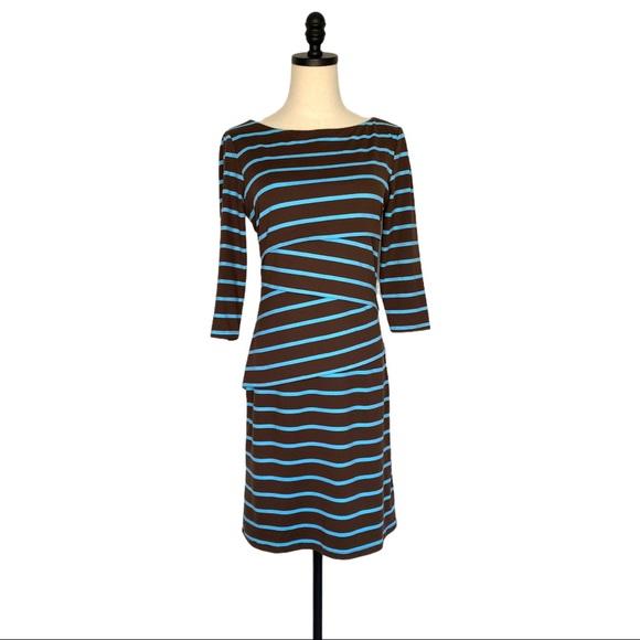 J McLaughlin Nicola Stripe Dress SZ S